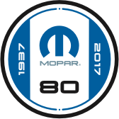 Mopar logo of today and beyond