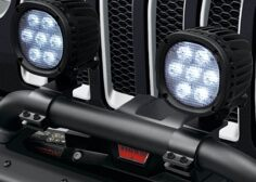 Winch Guard Light Mounting Bracket