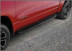 OFF-ROAD STYLE RUNNING BOARDS - crew cab