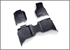 All Weather Floor Mats- Crew Cab