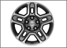 17-Inch Off-Road Wheels