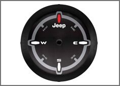 32-Inch Spare Tire Compass Design Cover