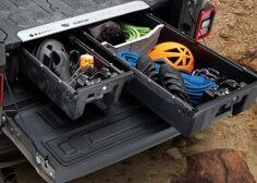 Sistema de almacenamiento de camioneta para plataforma